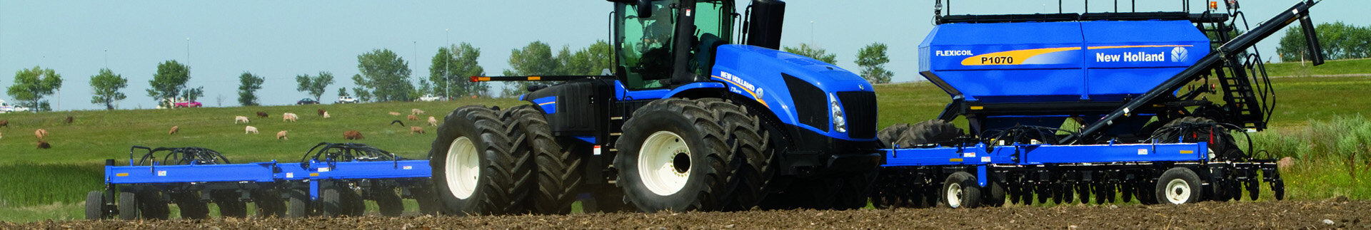 New Holland Tractors & Telehandlers | New Holland TK4000 Crawler